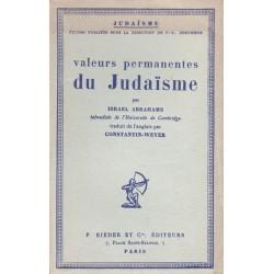 Valeurs permanentes du Judaisme