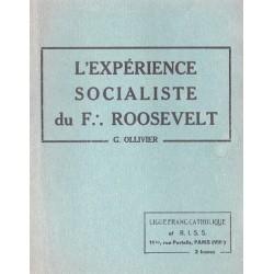 L'expérience socialiste de F Roosevelt