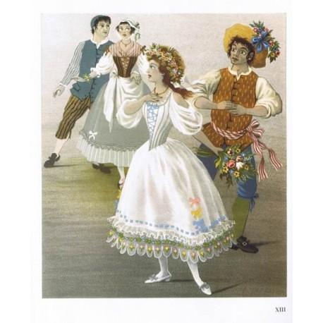 Décor de Don Juan - Essai -  Illustration par les décors et costumes de A.M. Cassandre pour le Don Giovanni de W.A. Mozart