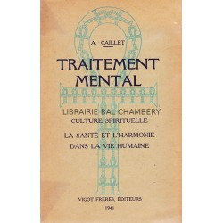 Traitement mental et culture spirituelle