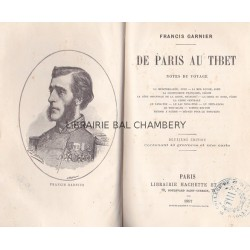 De Paris au Tibet  Notes de voyage