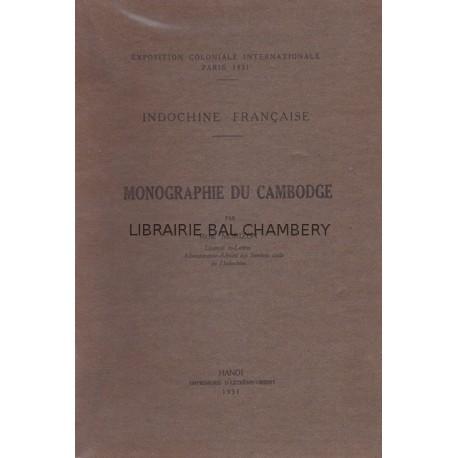 Monographie du Cambodge – Exposition coloniale internationale Paris 1931