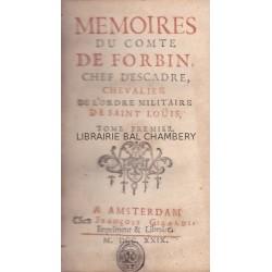 Mémoires du Comte De Forbin, Chef d'Escadre, Chevalier de l'Ordre militaire de Saint Louis
