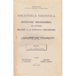 Dictionnaire bibliographique des ouvrages relatifs à la péninsule indochinoise
