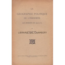 La géographie politique de l'Indochine aux environs de 960 A.D.
