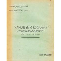 Manuel de géographie des états associés de l'Iindochine française