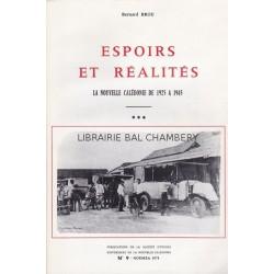 Espoirs et réalités La Nouvelle Caldonie de 1925 à 1945