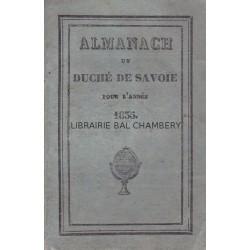 Almanach du Duché de Savoie pour l'année 1835