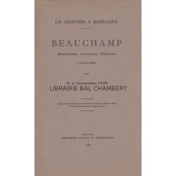 Un Comtois à Babylone  Beauchamp  1752 - 1801