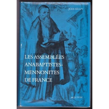 Les assemblées anabaptistes-mennonites de France