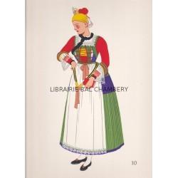 Costumes nationaux - Autriche - Hongrie - Tchéco-Slovaquie - Pologne