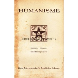 Bulletin du Centre de documentation du Grand Orient de France N° 57 Humanisme