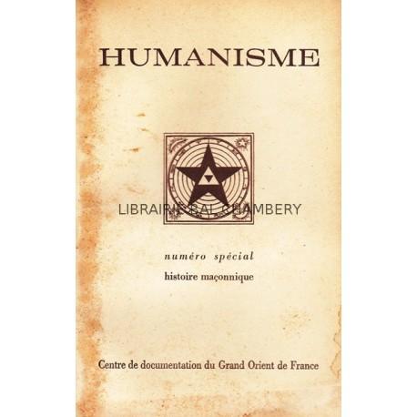 Bulletin du Centre de documentation du Grand Orient de France N° 57 Humanisme