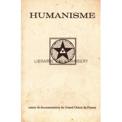 Humanisme Bulletin du Centre de documentation du Grand Orient de France N° 74