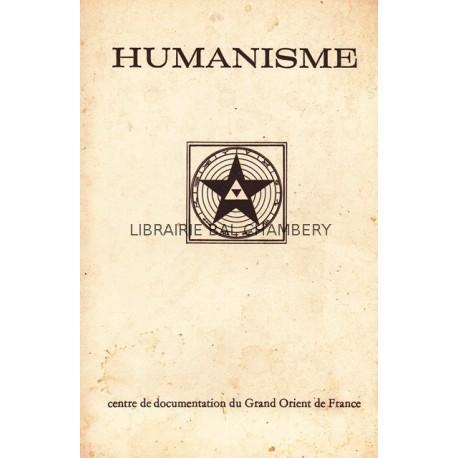 Humanisme Bulletin du Centre de documentation du Grand Orient de France N° 74