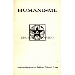Humanisme Bulletin du Centre de documentation du Grand Orient de France N° 75-76