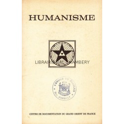 Humanisme Bulletin du Centre de documentation du Grand Orient de France N° 81-82