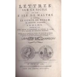 Lettres sur la Sicile et l'Ile de Malthe - 2 T
