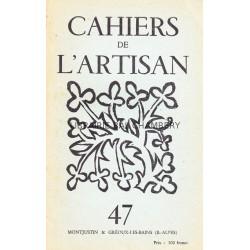 Cahiers de l'Artisan n° 47 à 51