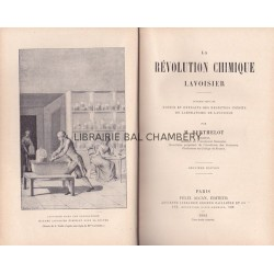 La révolution chimique - Lavoisier - deuxième édition