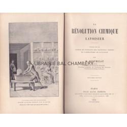 La révolution chimique - Lavoisier