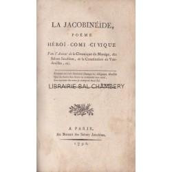 La Jacobinéïde Poëme héroï-comi-civique