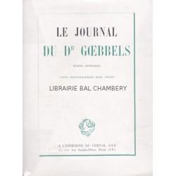 Le journal du Dr Goebbels - Texte intégral