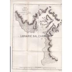 "Gravure n° 37 - "" Plan de l'entrée de Nootka "" - A Voyage to the Pacific Ocean [Third Voyage]"