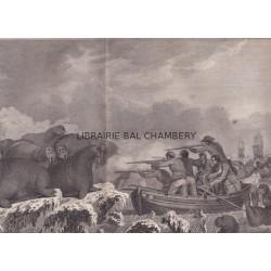 "Gravure n° 52 - "" Chevaux de mer "" - A Voyage to the Pacific Ocean [Third Voyage]"