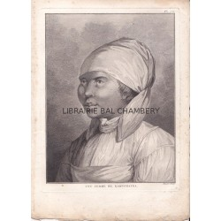 "Gravure n° 76 - "" Une femme du Kamtchatka  "" - A Voyage to the Pacific Ocean [Third Voyage]"