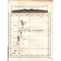 """Gravure n° 79 - """"Partie de Japon ou Nipon  """" - A Voyage to the Pacific Ocean [Third Voyage]"""