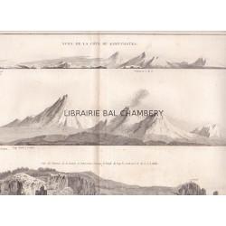 """Gravure n° 85 - """" Vues de la Côte du Kamtchatka"""" - A Voyage to the Pacific Ocean [Third Voyage]"""