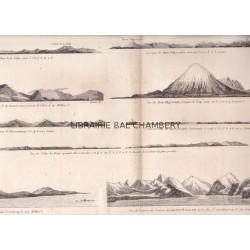"""Gravure n° 86 - """" Vues de la Côte occidentale d'Amérique """" - A Voyage to the Pacific Ocean [Third Voyage]"""