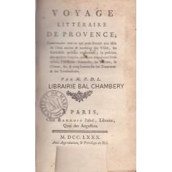 Voyage littéraire de Provence
