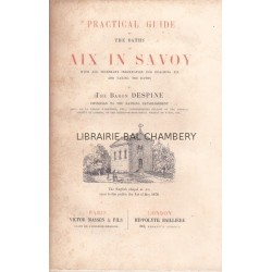 Practical guide to the baths of Aix in Savoy