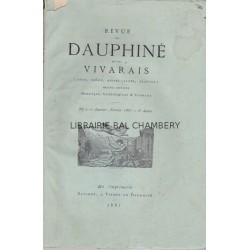 Revue du Dauphiné et du Vivarais