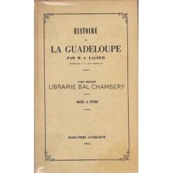 Histoire de la Guadeloupe  (4 T)