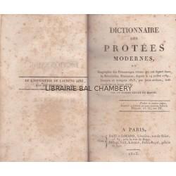 Dictionnaire des Protées modernes, ou ..., du 14 Juillet 1789 jusques et compris 1815