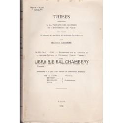 Géologie de l'Ahaggar Thèses présentées à la Faculté des Sciences de l'Université de Paris