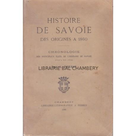 Histoire de Savoie  Des origines à 1860