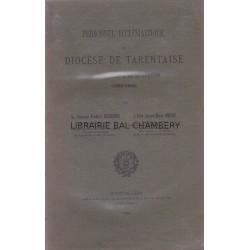 Personnel ecclésiastique du Diocèse de Tarentaise du concordat à la séparation (1802-1906)