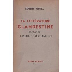 La littérature clandestine 1940-1944