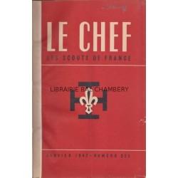 Le Chef  Les Scouts de France 1947
