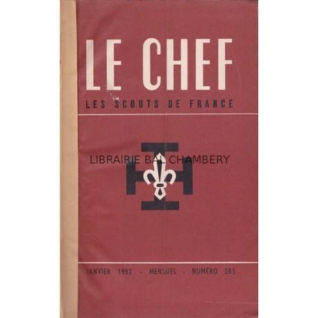 Le Chef  Les Scouts de France 1952