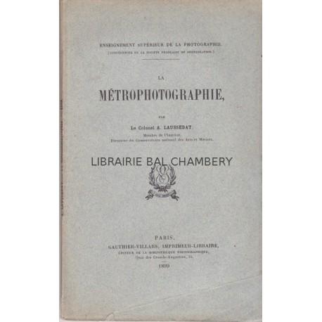 La Métrophotographie