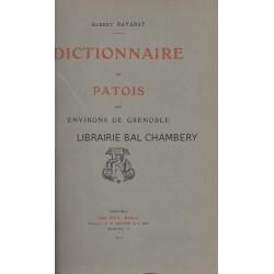 Dictionnaire du Patois des environs de Grenoble