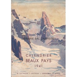 Calendrier Beaux Pays 1941
