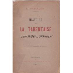 Histoire de la Tarentaise depuis 1792