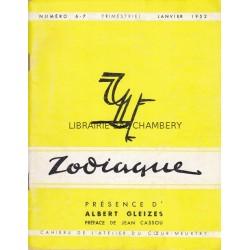 Zodiaque n°6-7 - Présence d'Albert Gleizes