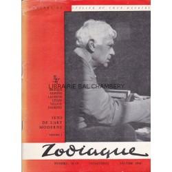 Zodiaque n°18-19 - Sens de l'art moderne - 2 vol.